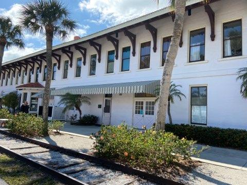 Boca Grande, Florida - Historic Train Station